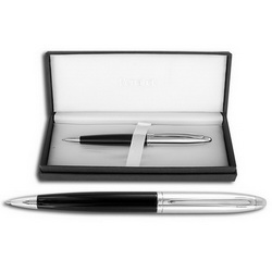 Ручка FRANKLIN COVEY Lexington Black/Chrome шариковая черный